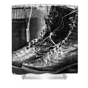 Withstand  Shower Curtain by Empty Wall