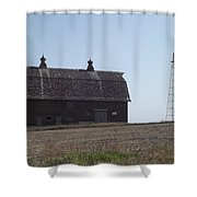Withstanding Time Shower Curtain