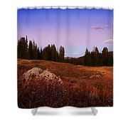 Wolf Creek Twighlight Shower Curtain