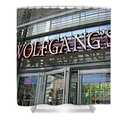 Wolfgangs Reflections Shower Curtain