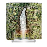 Woman In The Mist Shower Curtain