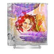 Woman's Soul Part 2 Shower Curtain