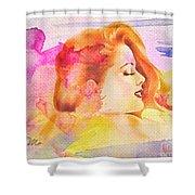 Woman's Soul Part 4 Shower Curtain