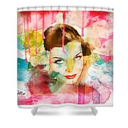 Woman's Soul Prelude Shower Curtain