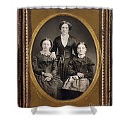Women C1855 Shower Curtain