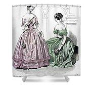 Womens Fashion, 1843 Shower Curtain