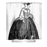 Womens Fashion, 1857 Shower Curtain