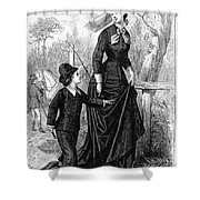 Womens Fashion, 1876 Shower Curtain by Granger