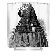 Womens Fashion, C1850s Shower Curtain