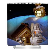 Wonderful Christmas Still Life Shower Curtain