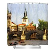 Wonderful Prague Shower Curtain