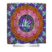 Wonderful Rose Petal Art Shower Curtain