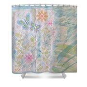 Wonderful Time Shower Curtain