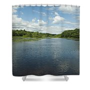 Wood River Shower Curtain