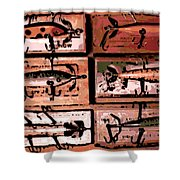 Wooden Killers Shower Curtain