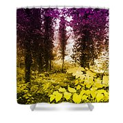 Woodland Color Shower Curtain