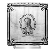 Woodrow Wilson Bandana Shower Curtain