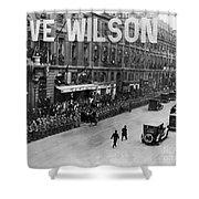 Woodrow Wilson In Paris Shower Curtain