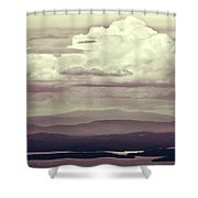 Words Mean More At Night Shower Curtain