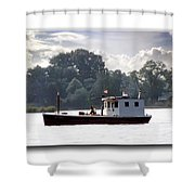 Workboat Shower Curtain