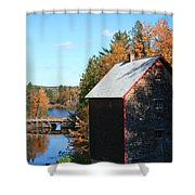 Working Gristmill Shower Curtain