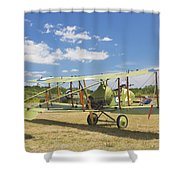 Worl War One 1916 Royal Aircraft F.e.8 Canvas Photo Poster Print Shower Curtain