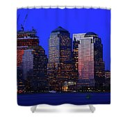 World Financial Center New York Shower Curtain