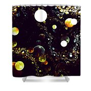World Of Bubbles Shower Curtain