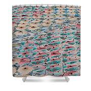 World Of Umbrellas Shower Curtain