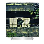 World War II Canon Darwin Australia Shower Curtain
