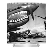 World War II: China, 1943 Shower Curtain