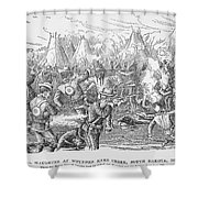 Wounded Knee, 1890 Shower Curtain by Granger