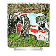 Wreck Of Rust Shower Curtain
