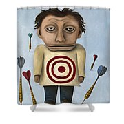 Wtf 2 No Words Shower Curtain by Leah Saulnier The Painting Maniac