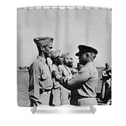 Wwii: Flying Cross Awards Shower Curtain