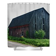 Wyoming County 5673c Shower Curtain