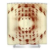 X-ray Diffraction Shower Curtain