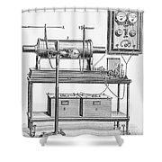 X-ray Machine Shower Curtain