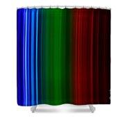 Xenon Spectra Shower Curtain