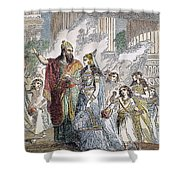 Xerxes I & Esther Shower Curtain