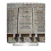 Xi. Olympic Games 1936 - Berlin Shower Curtain