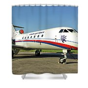 Yakovlev Yak-40 Shower Curtain