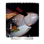 Yakovlev Yak-9u Frank Shower Curtain