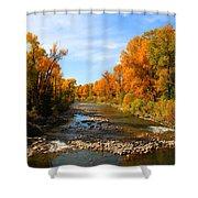 Yampa River Shower Curtain by Dana Kern