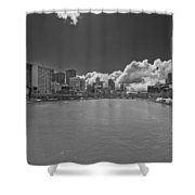 Yarrah River Melbourne In B And W Shower Curtain