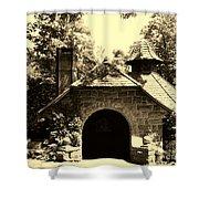 Ye Ole Cottage Shower Curtain