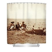 Yebichai Sweat, 1905 Shower Curtain by Photo Researchers