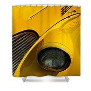 Yellow - D001178 Shower Curtain