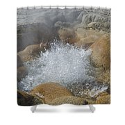 Yellowstone Hot Springs 9499 Shower Curtain