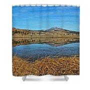 Yellowstone Reflections 9437 Shower Curtain